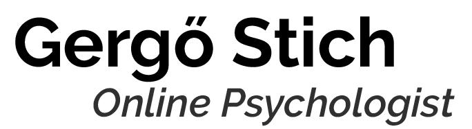 Gergő Stich Online Psychologist